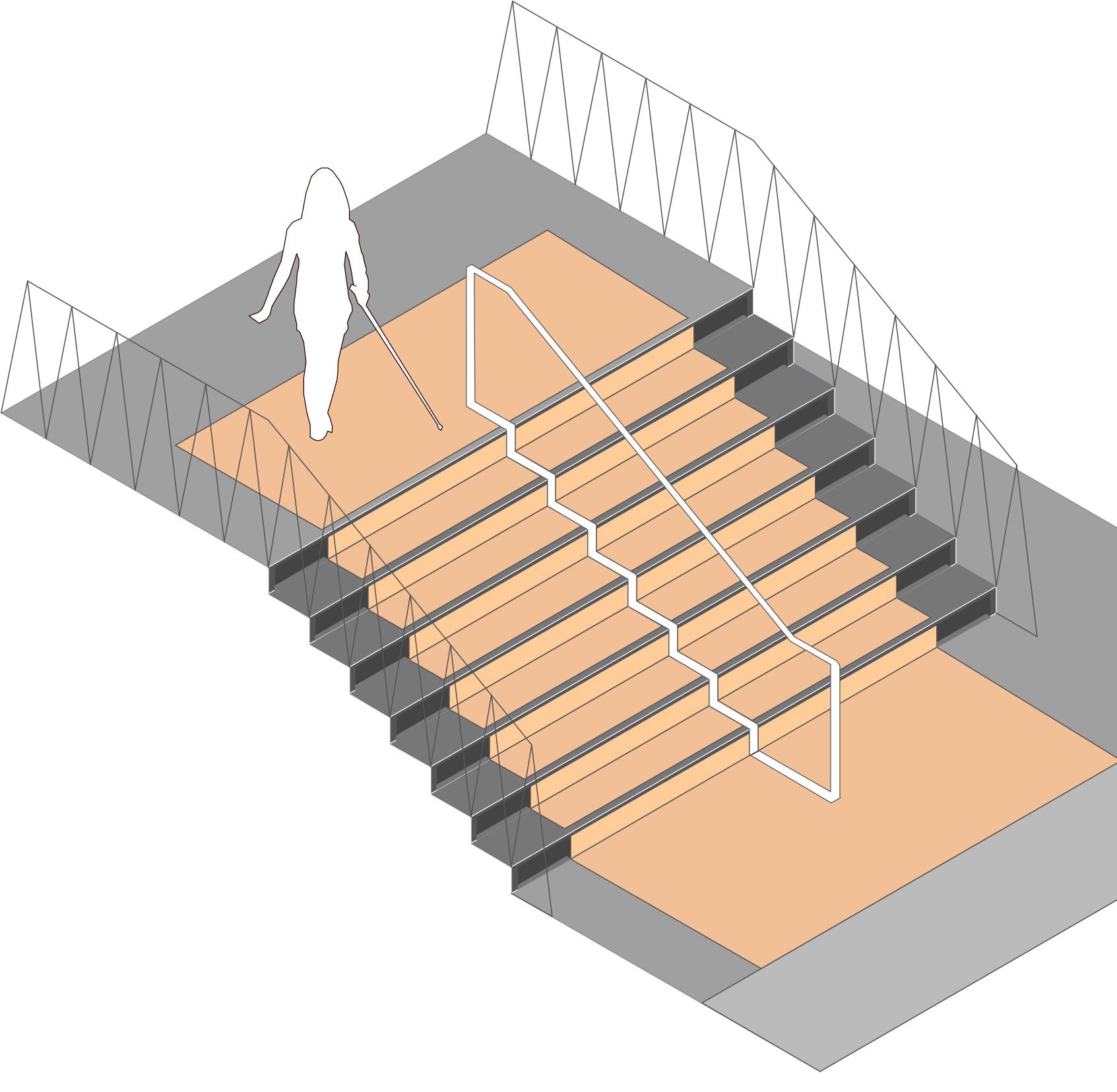 6 treppen und stufen erschlie ung handlungsfelder. Black Bedroom Furniture Sets. Home Design Ideas